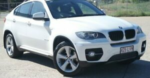 2008 BMW X6 E71 xDrive35i Coupe Steptronic White 6 Speed Sports Automatic Wagon