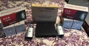 CCTV camera system with 6 cameras, and dvr for Home/Office