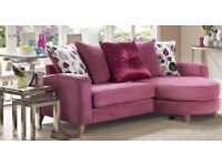 Dfs pink blush sofa + 3 years dfs fabric care
