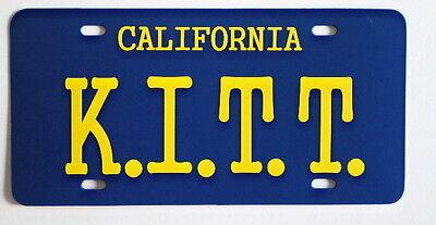 Knight Rider Trans Am  Kitt  License Plate David Hasselhoff Kitt Pontiac