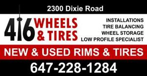 BRANDNAME NEW AND USED WINTER, SUMMER AND ALL SEASON TIRES! BEST PRICES AVAILABLE!