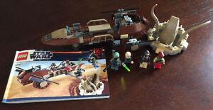 Lego Star Wars Desert Skiff (9496) - Complete