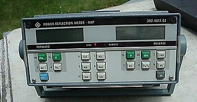 Rohde Schwarz Power Reflection Meter Nap No Reserve