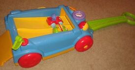 Fisher Price Pull Along Race Car