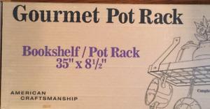 Book Shelf / Pot Rack