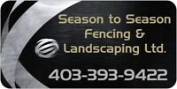 Beautiful fencing, done by professionals!