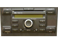 ford cd player mondeo focus with code