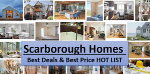 Scarborough Homes For Sale From $600K to $900K !