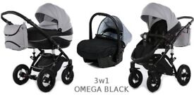 3 in1 pushchair in excellent condition. More photos available upon request.