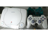 Sony Ps One console with 2 controllers