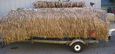 """35"""" X 60 FT FAST SELLING GRASS BIRD DUCK PALM GRASS MAT ROLL BEST ON THE MARKET"""