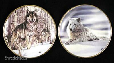 2  Mini WOLF Plates Al Agnew A Second Glance & Solitude