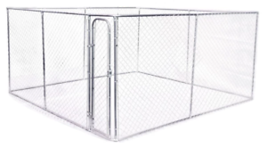 4mx4mx1.83m Dog Kennel Run and Pet Enclosure Run Animal Fencing Fence