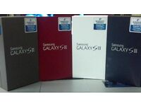 SAMSUNG GALAXY S3 BRAND NEW UNLOCKED WARRANTY AND SHOP RECIEPT