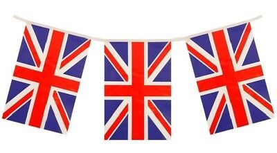 BEST OF BRITISH UNION JACK ROYAL WEDDING PLASTIC PARTY BUNTING FLAG (Best Birthday Banners)