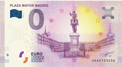Billet 0 Euro - Plaza Mayor Madrid - 2019-2