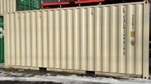 20' New Shipping Container - Beige