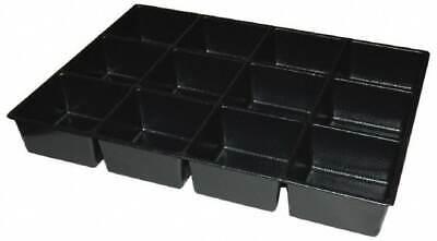 Kennedy Tool Box Durable Abs Plastic Organizer 23 Wide X 16-12 Deep X 4 H...