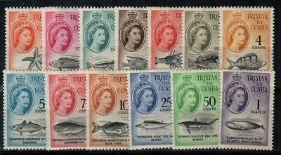 Tristan da Cunha Scott 42-54 Mint hinged (Catalog Value $86.00)
