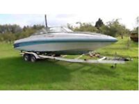 MASTER CRAFT FAMILY BOAT AND TRAILER