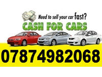 We will buy any car vans, anywhere, CASCH CALL