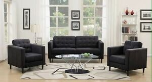 Brand new contemporary sofa and loveseat $878 + FREE DELIVERY!!