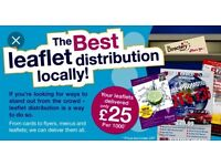 LEAFLET DISTRIBUTION AND DELIVERY