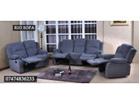 Fabric recliner 3+2 B