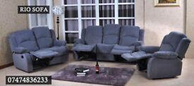 Fabric recliner 3+2 Q