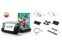 USED - Wii U - Premium 32GB - 4 Games and 2 Wii Remotes