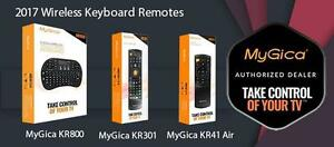 MyGica KR41 Air Mouse Keyboard Wireless.Plug n Play Insesrt USB into Android, MyGica, Linux or Windows based set-top box