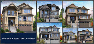 New Detached Homes & Townhomes For Sale in BRANTFORD Low $300s