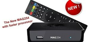 IPTV mag254 box with 1 Month Subscription for 98$ only!!!