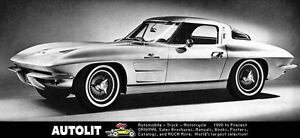 1963 Chevrolet Corvette Sting Ray Factory Photo ua4680-ICK9EW