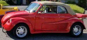 Super Beetle 1974 moteur cromée 1641 cubic deux carburateurs