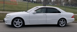 Mercedes S55 L Long AMG LIKE NEW SEDAN WHITE