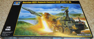 Trumpeter 1/35 Russian 4K51 Rubezh Coastal ASM with P-15