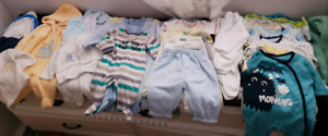 New born Baby boy clothes lot#1