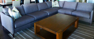 Crate and Barrel Klyne Sectional