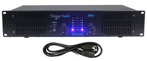Technical Pro Torque Audio AW1 1000 Watt 2-Canals DJ Power Ampl