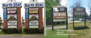 Led  Sign -Outdoor Pylon Signs