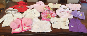 13 Sweaters Cardigans Vests 18-24 month girl Great Condition