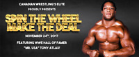 CWE Presents Spin The Wheel Make The Deal!