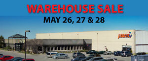 J Sonic's Warehouse Blowout Sale May 26-27-28