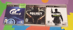 PS3 Games Call of Duty MW3 $15 Call of Duty Black Ops $10