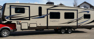 2014 Sunset Trail Reserve SF34BH Fifth Wheel