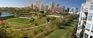 Stunning River & Park View Furnished Downtown Condo