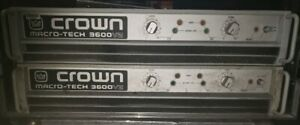 crown power amps