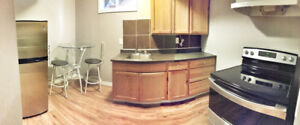 Newly renovated one bedroom plus den