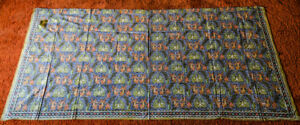 Indonesian Batik cotton fabric panel (new)